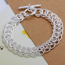 New Charms lady silver charm trend women simple cute Bracelet Jewelry nice chain