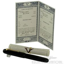 Visconti Black Urushi Limited Edition Fountain Pen #017/100