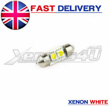 1x 31mm Xenon Blanco 2 Smd Led Interior Bombilla De Luz De Guantera Vw Golf Mk4 4 Iv