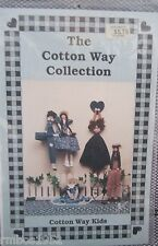The Cotton Way Collection Cotton Way Kids Pattern ONLY Wood & Fabric NEW