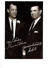 """Gordie Howe and Maurice """"Rocket"""" Richard - very RARE!!!"""