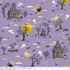 Happy Haunting Patchworkstoffe Stoffe Halloween Kinderstoffe Patchwork Hexen