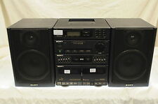 SONY FH-414 II Ghetto Blaster/ HiFi Stereo System + Phono Input HST-414 Boombox