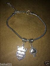 """""""Queen of Spades Anklet"""" Hotwife Swinger Lifestyle BBC Jewelry Fetish Cuckold"""