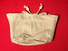 Longaberger SMALL SCALLOPED POCKET Basket Solid SAGE Fabric LINER ~  NEW!