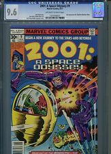 2001: A Space Odyssey #9 CGC 9.6 (1977) 2nd Mr. Machine (Machine Man) Jack Kirby