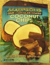 Maui and Sons Dark Chocolate Coated Coconut Chips - 5x bags
