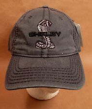 Shelby Cobra Ford Hat Cap USA Embroidery Prefaded New