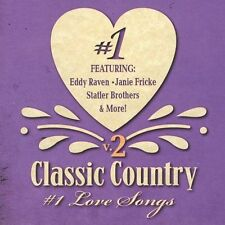 Classic Country #1 Love Songs, Vol. 2, Various Artists, New