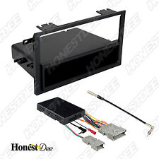 CHEVROLET CAR STEREO SINGLE/DOUBLE/2/D-DIN RADIO INSTALL DASH KIT COMBO 99-2011
