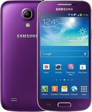 SAMSUNG GALAXY S4 MINI 8GB UNLOCKED LTE 4G SMARTPHONE -Purple Mirage