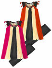 Girls Striped Dress And Legging Set New Girls Summer Outfit Set Age 2-10 Years