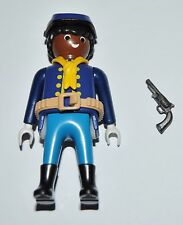 36179 Buffalo Soldier, 9th/10th US cavalry ACW 1870 Soldado CUSTOM playmobil