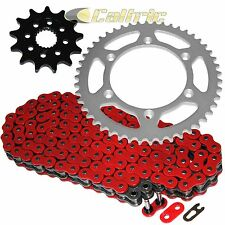 RED O-RING Drive Chain & Sprockets Kit Fits GAS GAS EC300F XC300F 4T 2013-15