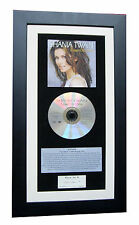 SHANIA TWAIN Come Over CLASSIC CD Album GALLERY QUALITY FRAMED+FAST GLOBAL SHIP