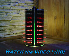 LED Stage Lighting  Disco Party Club DJ Light Acrylic Laser Cut RED RGB