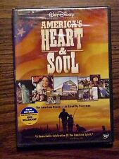 AMERICA'S HEART & SOUL DVD NEW SEALED INSPIRATIONAL MOVIE HUMAN TRIUMPH STORIES