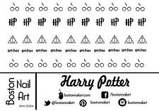Harry Potter Waterslide Nail Decal - 50 PC - BNA-20004