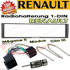 Renault Megane 2 Scenic Modus Clio Radio Blende Adapter Kabel /SET