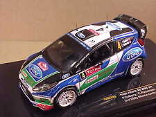 Ixo 1/43 Diecast Ford Fiesta RS WRC, 3rd 2012 Rally Monte Carlo, Total  #RAM489