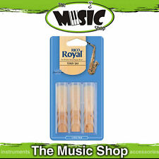 New Rico Royal 2 1/2 Strength Tenor Saxophone Reeds - 3 Pack - Tenor Sax Reed
