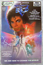 Michael Jackson as Captain EO 1987 Eclipse 3-D Comic Excellent w/ Glasses Attach