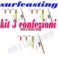 3 avvisatori di abboccata segnalatori pesca surfcasting surf casting canna mare