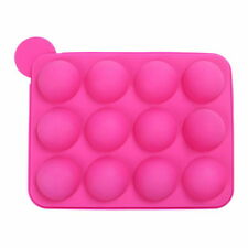Good DIY Silicone Cake Pop Mould Cupcake Mold Lollipop Sticks Baking Tray Tool