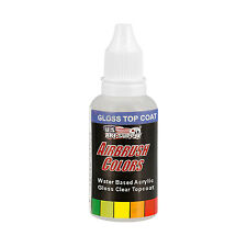 US Art Supply 1-Ounce Protective Clear Gloss Top Coat Airbrush Paint Clear