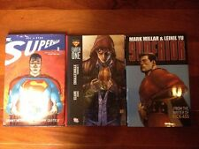 All Star Superman Hardcover Volume 2, Supreme Hardcover, Superman Earth One Set