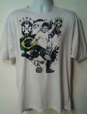 Team Brasil 2010 FIFA World Cup CBF BRAZIL Dri Fit Licensed Soccer hipster XL