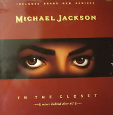 "Michael Jackson, In the closet - mixes behind door #2, NEW/MINT UK 12"" single"