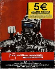 Chappie 2-Disc FNAC Limited Edition SteelBook (Region A, B & C/2 France Import)