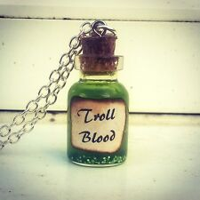 Troll Blood Necklace-Harry Potter-Jewellery-Christmas Stocking Filler