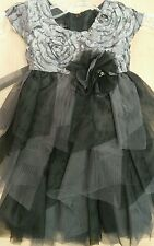 Isobella and Chloe Silver Holiday Dress size 24month