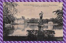 CPA - 77 - Palacio de Fontainebleau - el castillo y l'estanque de carpas