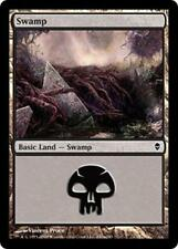 20x*Basic Land*Swamp*Zendikar*NM/SP*x20*#241a*Magic the Gathering MTG*FTG