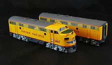 BRASS HO Samhongsa Oriental Limited UP Union Pacific F7 (A/B) Set F/P - New -
