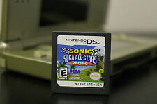 Sonic & Sega All-Stars Racing  (Nintendo DS, 2010) *Tested/3DS Compatible