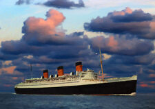 RMS QUEEN MARY - HAND FINISHED, LIMITED EDITION (25)