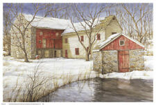 DAN CAMPANELLI - The Old Spring House  ART PRINT 27x18 Scenic Country Poster