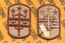 US Army 260th Military Police MP Brigade Desert DCU uniform patch