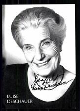 Luise Deschauer Autogrammkarte Original Signiert TOP## BC 1383