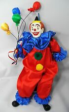 NWOT SCOOPY CLOWN DOLL Ice Cream Cone Flagstaff Americana Nostalgia Approx 13""