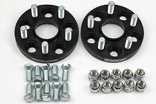 20mm Hubcentric Spacers for Vw Golf Mk4 R32 GTI TDI with Studs and RADIUS NUTS