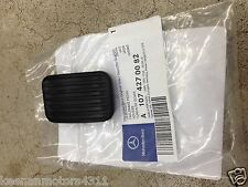 Genuine OEM Mercedes Benz SL Class R107  Emergency Brake Pedal Pad 1971-1989