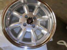 FIAT 124 SPIDER, X1/9, MONZA WHEELS, SILVER, SET OF 4,  15X6.5