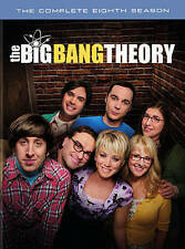 NEW GENUINE WB DVD W/DIGITAL UV BIG BANG THEORY EIGHTH SEASON 8 FREE 1ST CLS S&H