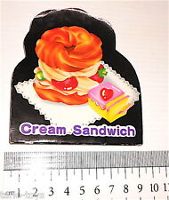 CREAM SANDWICH 80s Gold Tiger Taiwan kawaii tiny memo pad - mini notes kawaii