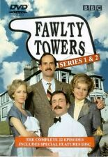 FAWLTY TOWERS COMPLETE SERIES 1 2 DVD Box Set BBC Comedy All Episodes Sealed UK